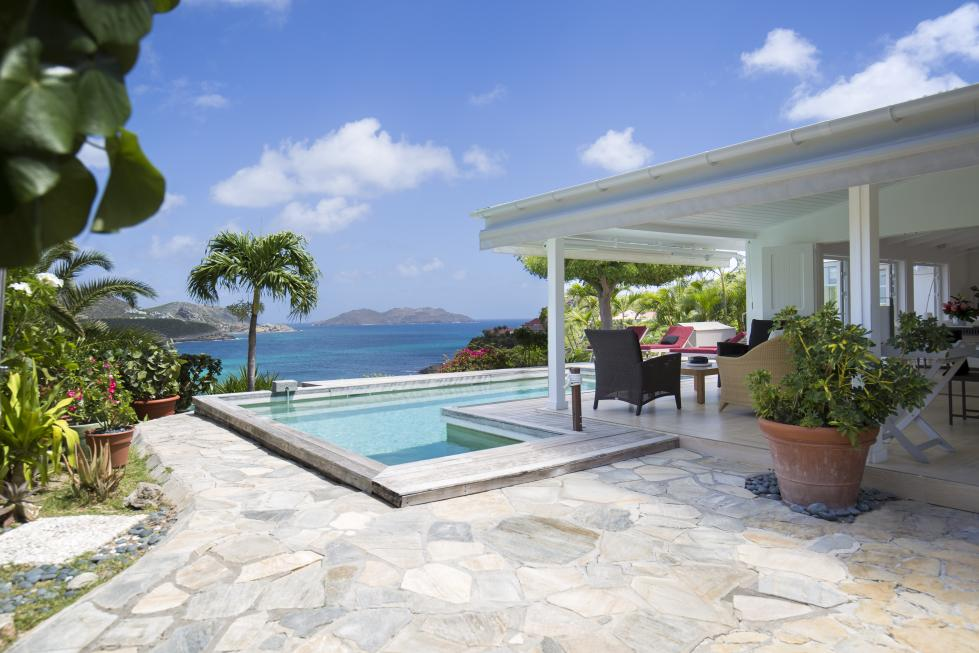 St Barts Villa Rentals By Owner -The Entrance