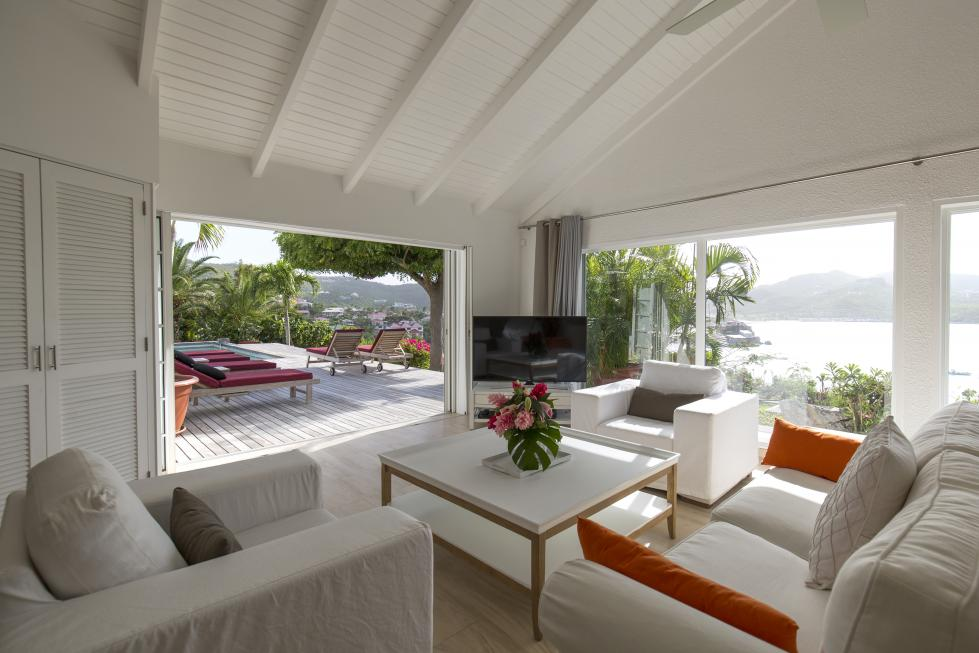 St Barts Villa Rentals By Owner - Governor Suite - Private TV