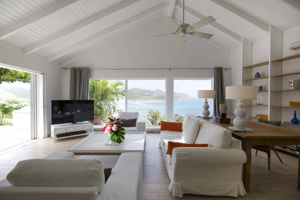 St Barts Villa Rentals By Owner - Governor Suite - Private Living Room