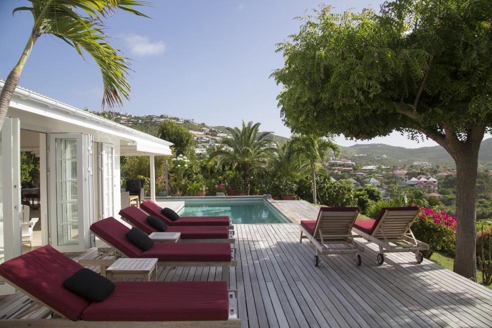 St Barts Villa Rentals By Owner -The Deck