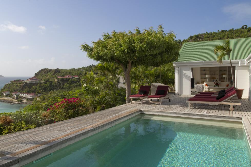 St Barts Villa Rentals By Owner -The Pool