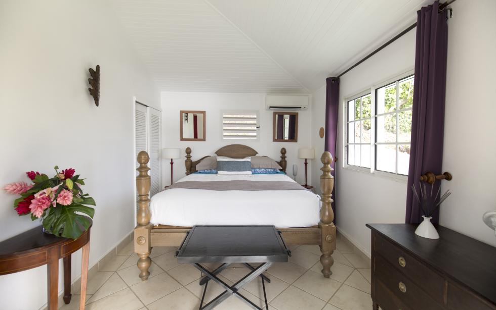 St Barts Villa Rentals By Owner - Josephine Suite - Queen Size Bed
