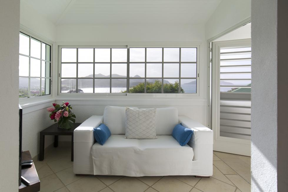 St Barts Villa Rentals By Owner - Josephine Suite - Sofa