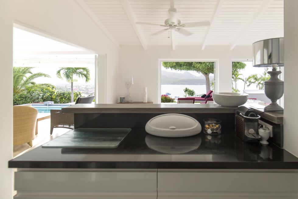 St Barts Villa Rentals By Owner - Kitchen - View