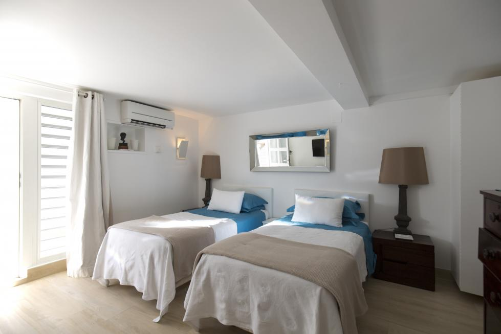 St Barts Villa Rentals By Owner - Paul & Virginie Bedroom - Twin Beds