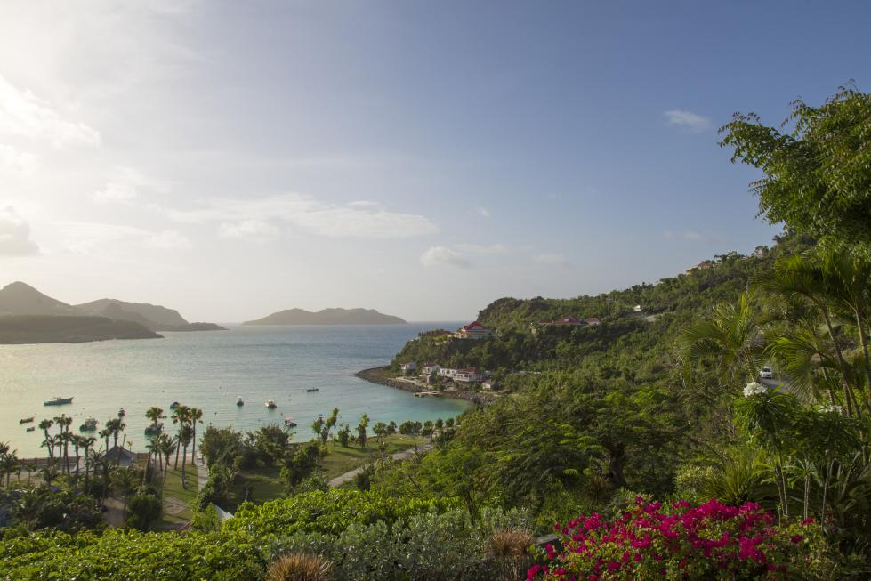 St Barts Villa Rentals By Owner - View on St Jean Bay