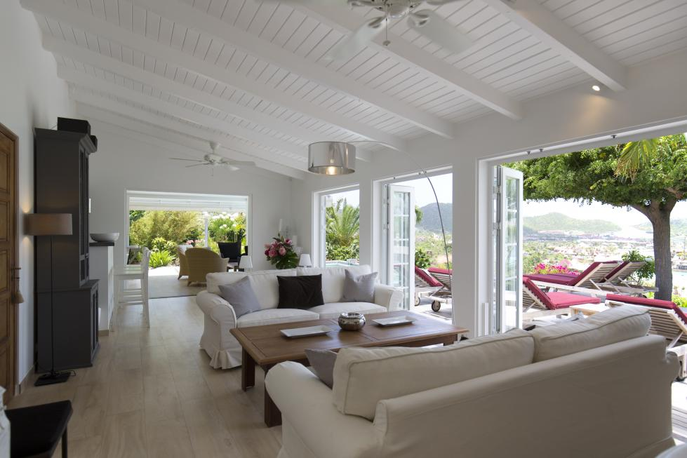 St Barts Villa Rentals By Owner - Living Room