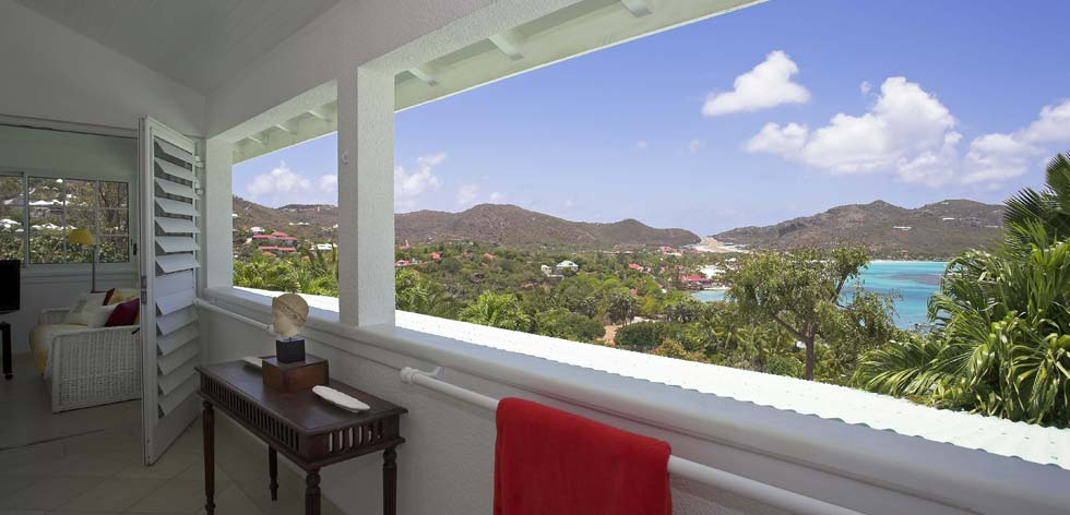 St Barts Villa Rentals - First Floor Patio