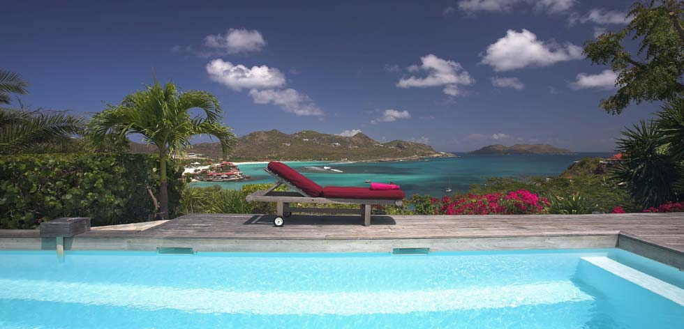 Location St Barth - Location Villa Saint Barth – Terrasse & Piscine